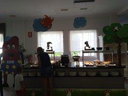 buffet para crianças