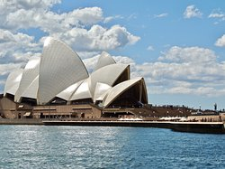 View of Sydney Opera House from the Manly Fast Ferry