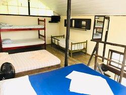 Temos Chalé, quartos e camping