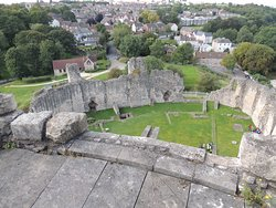 The view from the top of the keep