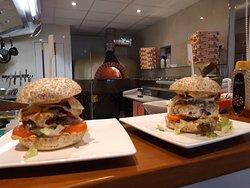 Tramonti Burger bij Restaurant / Pizzeria Tramonti te Beverwijk