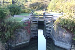 Lock 38 Erie Canal Ohio at Valley View