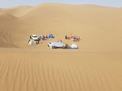 A group of 30 people with my iranian tourists. Unforgettable camping