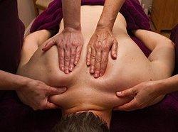 Luxury four hand massage