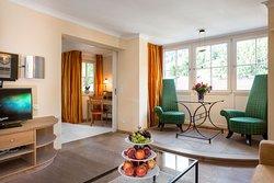 Wohnzimmer der Firenze Suite