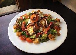 Salade chèvre&lard
