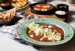 Indian Egg Paplet Breakfast