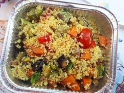 Rosticceria Anna : cous cous con verdure