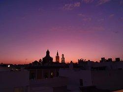 Panoramic Views at Sunset.