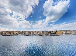 Taranto, panoramica dell'isola del centro storico