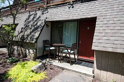 Inn at Deep Creek - first level rooms offer private patios