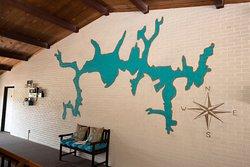 Inn at Deep Creek - Mural of the lake