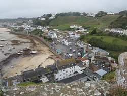 View of Gorey from the top