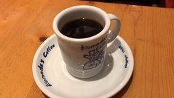 ブレンドコーヒー と C:名古屋名物おぐらあん (2019/10/16)