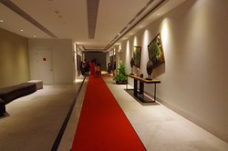Walkway to Hotel Lifts