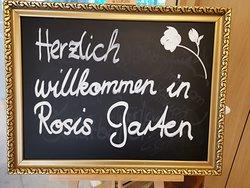 Herzlich Willkommen in Rosis Garten