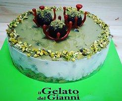 Torta gelato Vaniglia e pistacchio