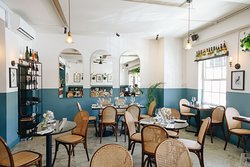 Our main dining room at Grub & Vine