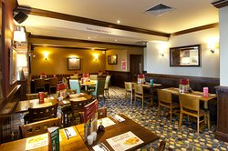 Brewers Fayre restaurant interior