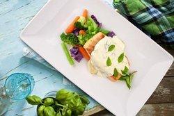 Comida preparada con los mejores ingredientes naturales.