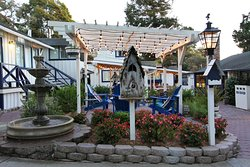 Quaint property with a beautiful garden, gazebo, and fire pits!