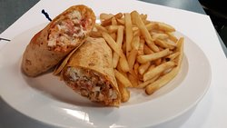 Crispy Chicken Ranch wraps