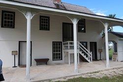 Kingsley Plantation mansion.