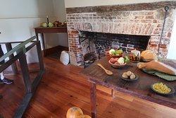Kingsley Plantation mansion, kitchen.