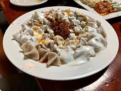 Manti ( Anatolian Beef Dumplings )..my wife loved it !