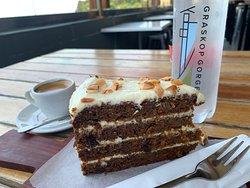 Lift Cafe - carrot cake