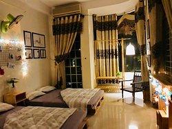 Phòng Family cho 4 người: 2 giường, vệ sinh chung