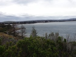 This is the view of Victor Harbour from Granite Island