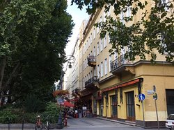 Andrassy Avenue in Budapest