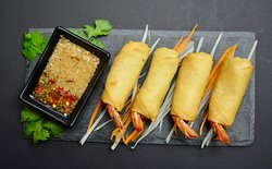 Shrimps Spring Rolls