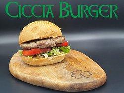 -Green Clover Irish Pub Menù-  Alla fine dell'arcobaleno mi basterebbe trovare il panino..con la salsiccia 😋 #cicciaburger Macinato di Salsiccia di prima qualità, insalata e pomodori freschi e cipolla caramellata di nostra produzione