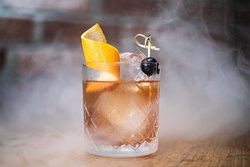 Sample our Smokey Old Fashioned