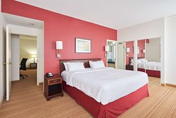 Our one-bedroom suites range between 600-800 square feet, and are ideal for families or individuals looking for an extended stay.