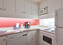 Our one-bedroom suites provide our guests all the comforts from home. Our fully equipped kitchens allow you to cook all of your favorite dishes.