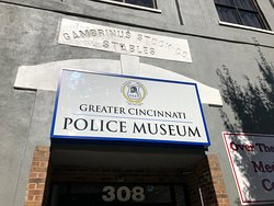 Front sign on museum
