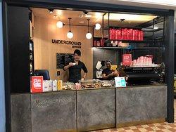 Underground Espresso, Queen Victoria Building