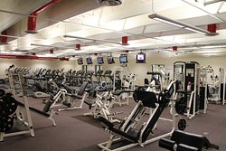 Large upstairs wellness center