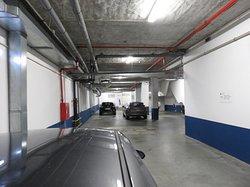 Garagem no subsolo