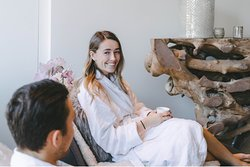 Feel the tension from travel, meetings or a day of Whistler adventure melt away during your visit to our award-winning, organic spa.