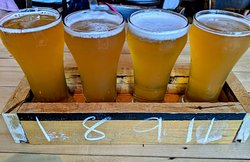 Excellent light beers!  River Styx Monster is a great IPA.  Thelma Lou was my favorite - great blonde!