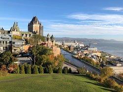 Superb view of old Quebec