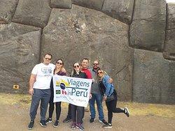 """Passeio em Cusco - Sacsayhuaman - George William de Lira e Familia"""