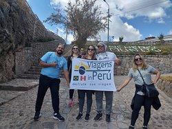 """Passeio no Vale Sagrado dos Incas - Chinchero - Pisac  - George William de Lira e Familia"""