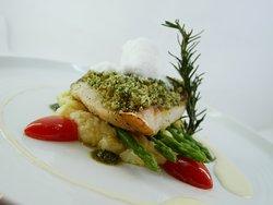 Pan Seared Sea-bass