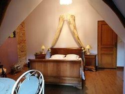 Chambre romantique - Demeure des Vieilles Lanternes - Normandie