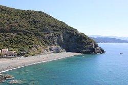 Vue de cette marine de Negru depuis la départementale D80